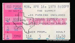 Donna Summer - Apr 16, 1979 at The Summit