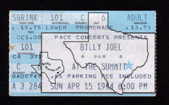 Billy Joel - Apr 15, 1984 at The Summit