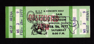 Queen - Feb 26, 1977 at Sam Houston Coliseum