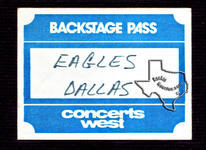Eagles - Apr 19, 1974 at Dallas Convention Center Arena