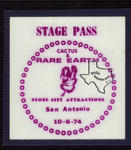 Rare Earth - Oct 6, 1974 at San Antonio, Texas