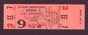 Jimi Hendrix - May 10, 1970 at San Antonio, Texas