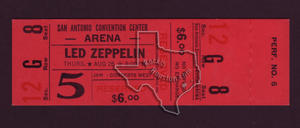 Led Zeppelin - Aug 26, 1971 at San Antonio, Texas
