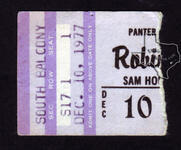 Robin Trower - Dec 10, 1977 at Sam Houston Coliseum