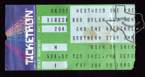 Tom Petty - Jun 20, 1986 at Astroworld / Southern Star