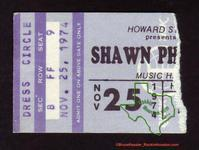 Shawn Phillips - Nov 25, 1974 at Houston Music Hall