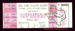 Triumph - Jun 17, 1979 at Houston Music Hall