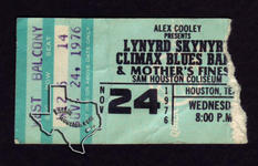 Climax Blues Band - Nov 24, 1976 at Sam Houston Coliseum