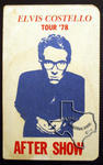 Elvis Costello - May 24, 1978 at Houston Music Hall