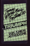 Triumph - Jun 19, 1983 at Houston Astrodome