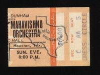 John McLaughlin & Mahavishnu Orchestra - Jun 15, 1975 at Houston Music Hall