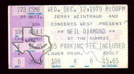 Neil Diamond - Dec 12, 1979 at The Summit