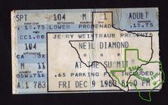 Neil Diamond - Dec 9, 1983 at The Summit