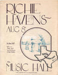 Richie Havens - Aug 8, 1972 at Houston Music Hall